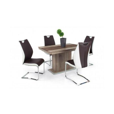 Adél 4 személyes étkezőgarnitúra Flóra asztallal