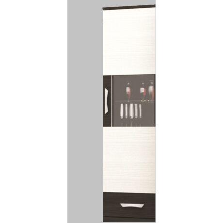 Basel szekrénysor Üveges felső elem