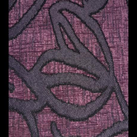 Bergamo lila mintás