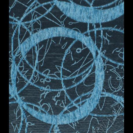 Globe kék mintás