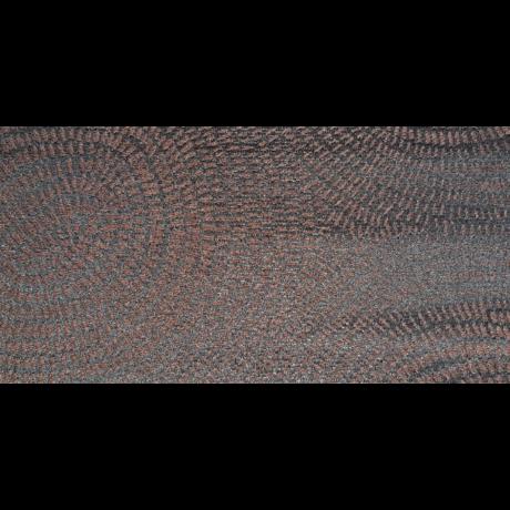 Szivárvány sötét barna mintás