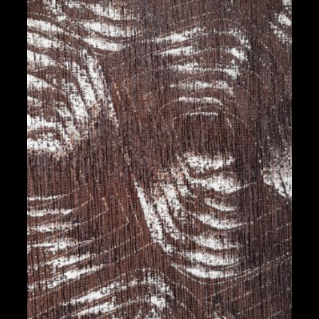 Rimini barna mintás