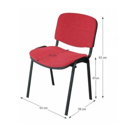 Iso NEW irodai szék, piros