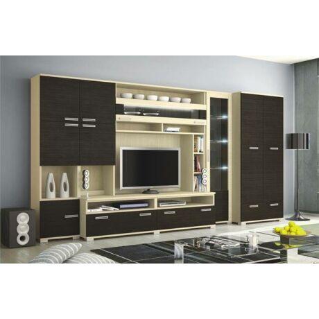 Tokyo szekrénysor Ferrara tölgy - Finom barna