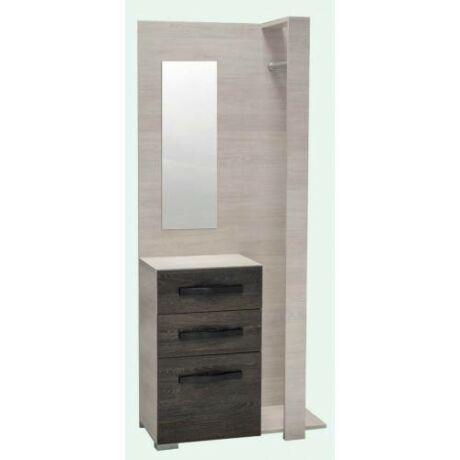 Atlanta tükrös előszoba szekrény (ATLETSZ)