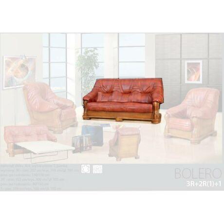 Bolero 3-as valódi bőr kanapé