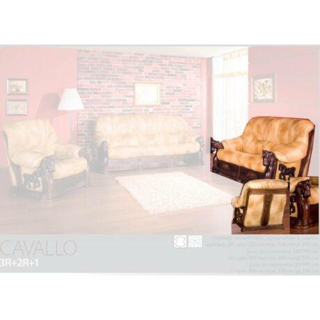 Cavallo 2-es valódi bőr kanapé