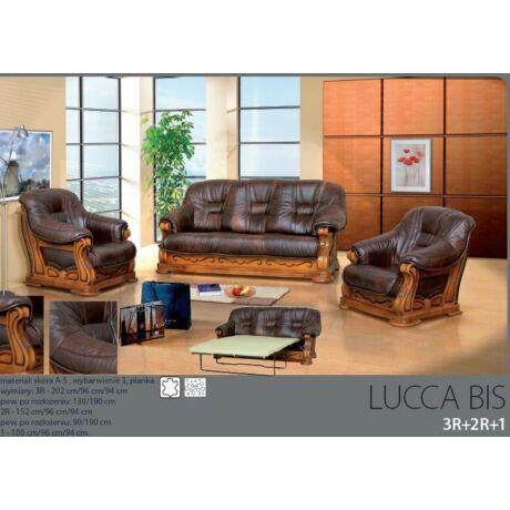 Lucca Bis 3+2+1 valódi bőr ülőgarnitúra