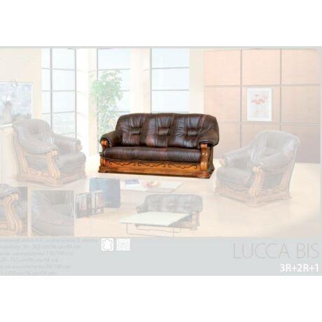 Lucca Bis 3-as valódi bőr kanapé