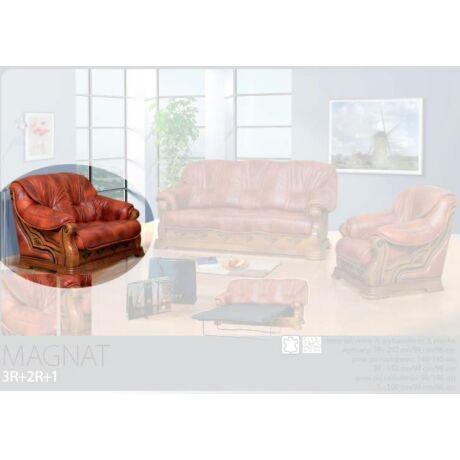 Magnat 2-es valódi bőr kanapé