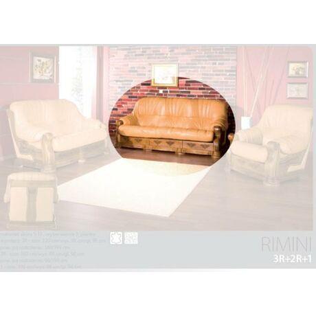 Rimini 3-as valódi bőr kanapé