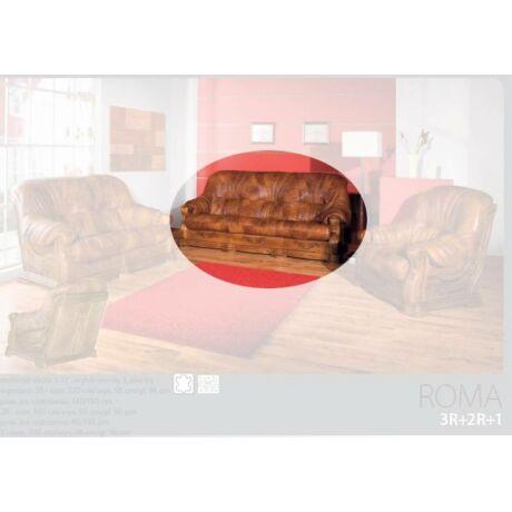 Roma 3-as valódi bőr kanapé