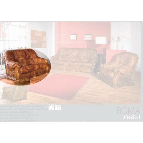 Roma 2-es valódi bőr kanapé