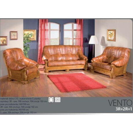 Vento 3+2+1 valódi bőr ülőgarnitúra