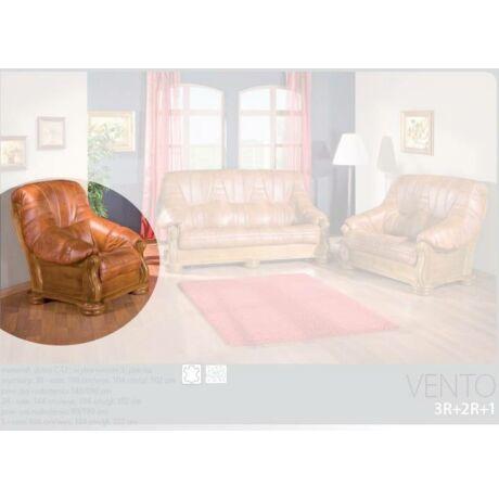 Vento fotel valódi bőr bevonattal