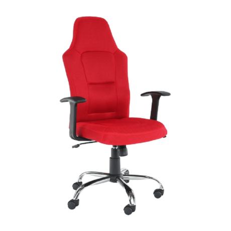 Irodai szék, piros, VAN
