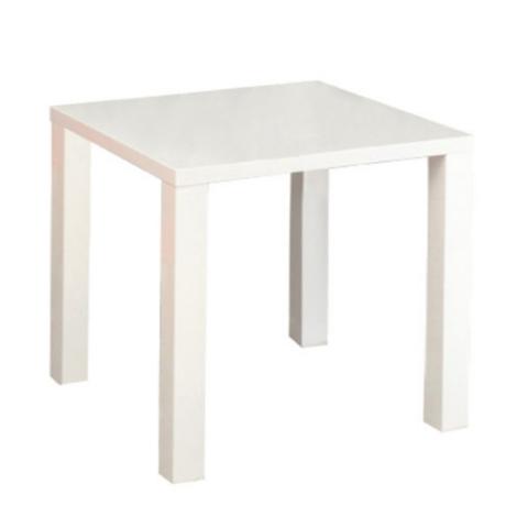 Étkezőasztal, fehér magas fény HG, ASPER NEW TIP 5