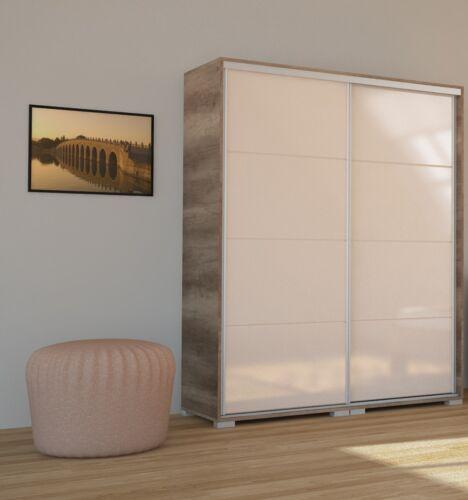 Magasfényű festett üveglapos Bond tolóajtós gardrób 160 cm